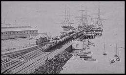 Shipping pier